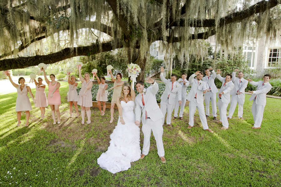 Wedding Pictures At Pebble Hill Plantation In Thomasville GA