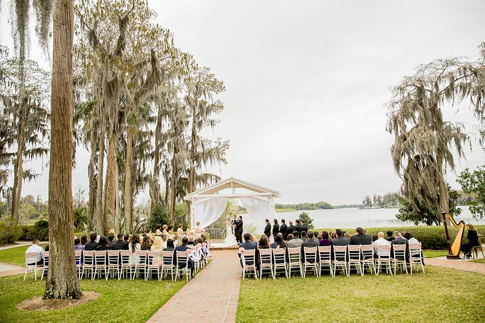 Cypress Grove Estate House Wedding Ceremony