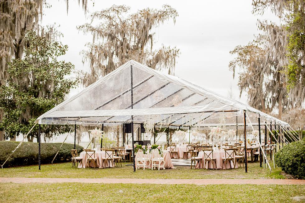 Cypress Grove Estate House Wedding Reception