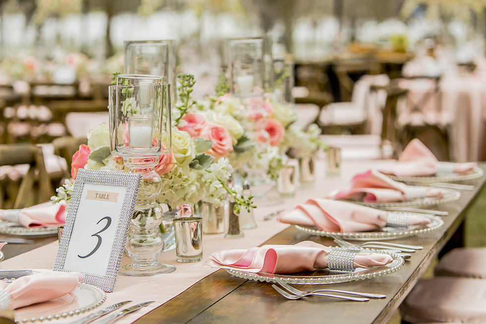 Cypress Grove Estate House Wedding Reception Details