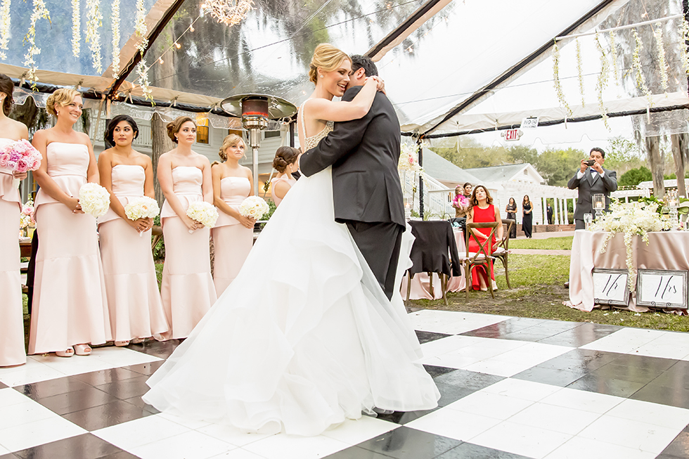 Cypress Grove Estate House Tent Wedding Reception
