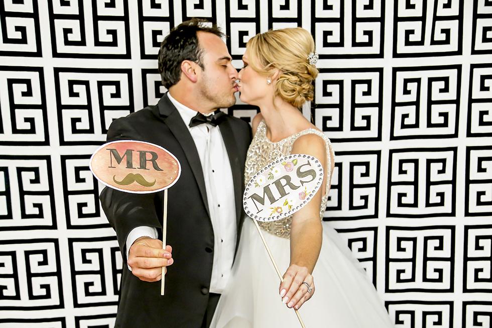 Cypress Grove Estate House Wedding Photo Booth